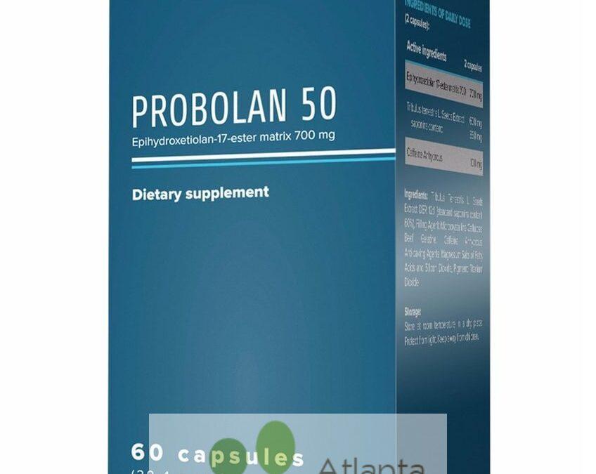 Probolan 50 – tabletki na przyrost masy miesniowej