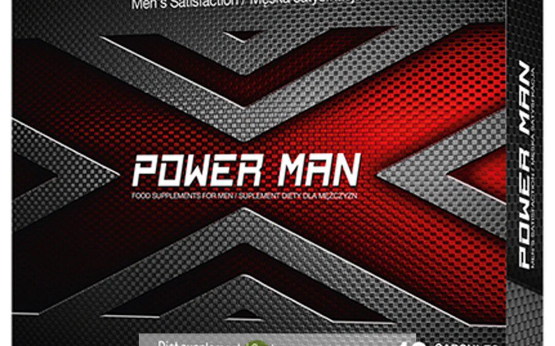 PowerMan – tabletki na erekcję