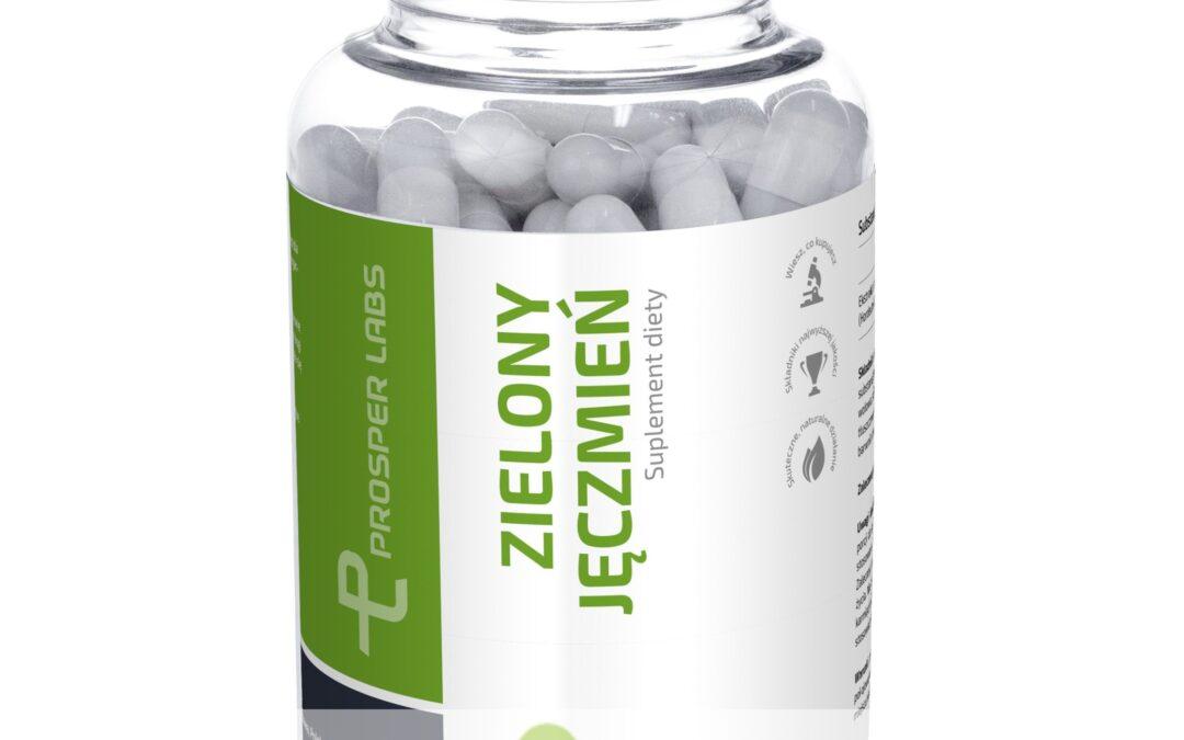 Zielony Jęczmień Prosper Labs – tabletki na oczyszczenie organizmu